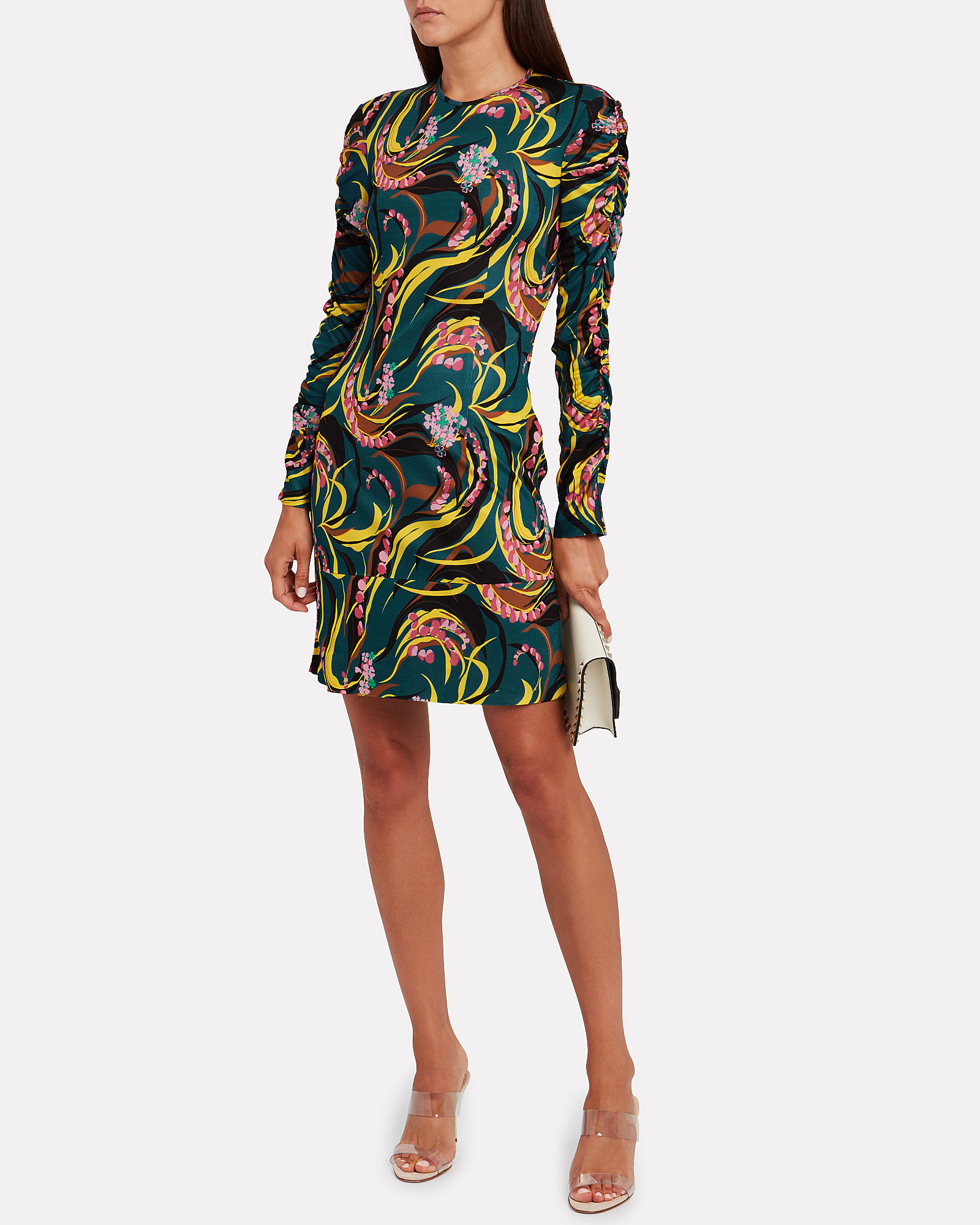 Tinder Windy Floral Mini Dress, MULTI, hi-res