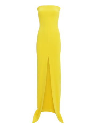 Bysha Yellow Gown, YELLOW, hi-res