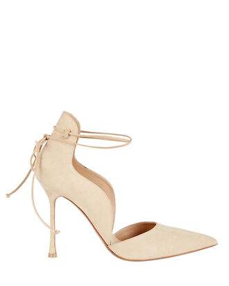 Wave 105 Ankle Wrap Pumps, BEIGE, hi-res