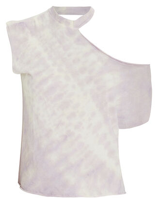 Axel Cut-Out Tie Dye T-Shirt, MULTI, hi-res