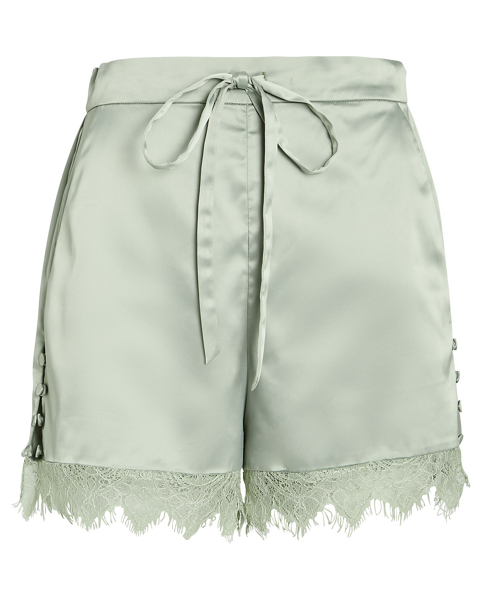 Army Charmeuse Tap Shorts, OLIVE/ARMY, hi-res