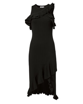 Kellam Knit Dress, BLACK, hi-res