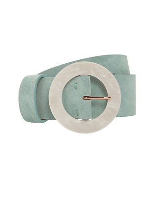 Louise Suede Belt, LIGHT BLUE, hi-res