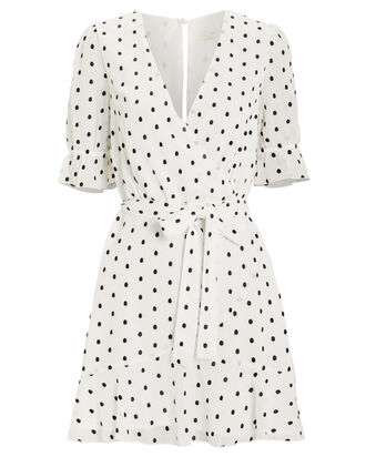 Something About You Mini Dress, WHITE/BLACK/POLKA DOTS, hi-res