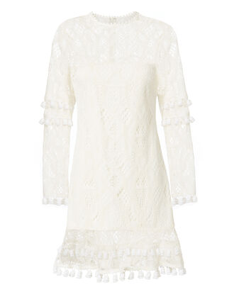 Liana Dress, WHITE, hi-res