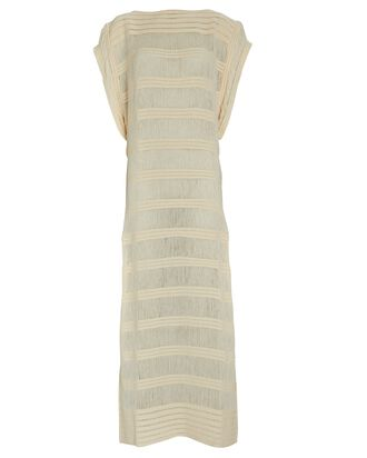 Naufragio Striped Maxi Dress, IVORY, hi-res