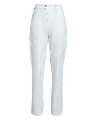 Taylor High-Rise Jeans, WHITE, hi-res