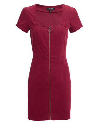 Courtney Mini Dress, BURGUNDY, hi-res