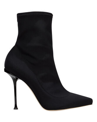 Milano Stretch Booties, BLACK, hi-res