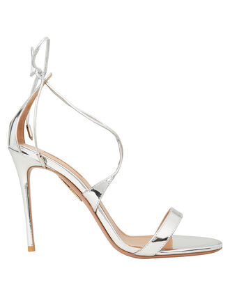 Linda Strappy Stiletto Sandals, SILVER, hi-res