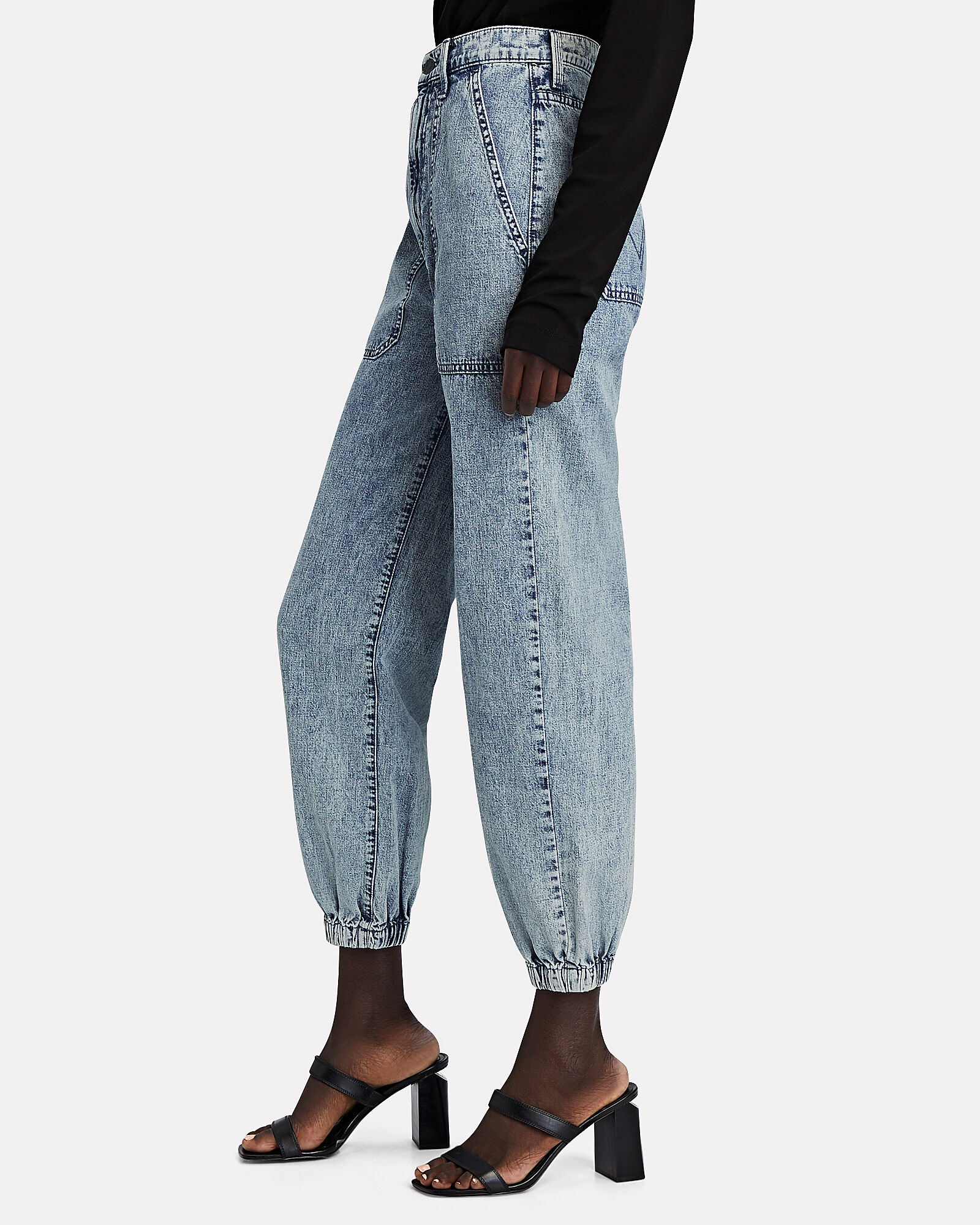 The Wrapper High-Rise Jeans, , hi-res