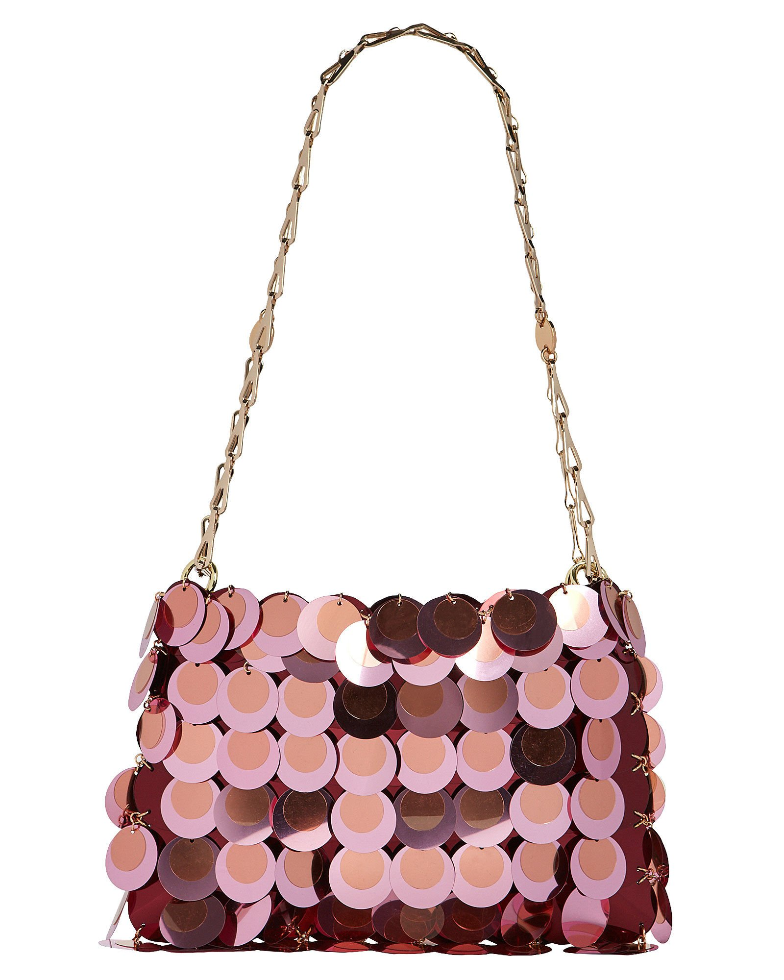 Mini 1969 Chain-Mail Bag, PINK, hi-res