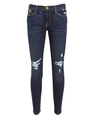 Le Skinny de Jeanne Wriley Jeans, DARK DENIM, hi-res