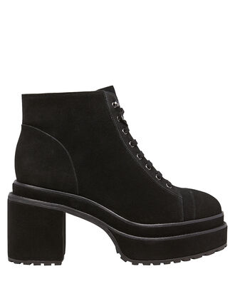 Bratz Lug Sole Booties, BLACK, hi-res