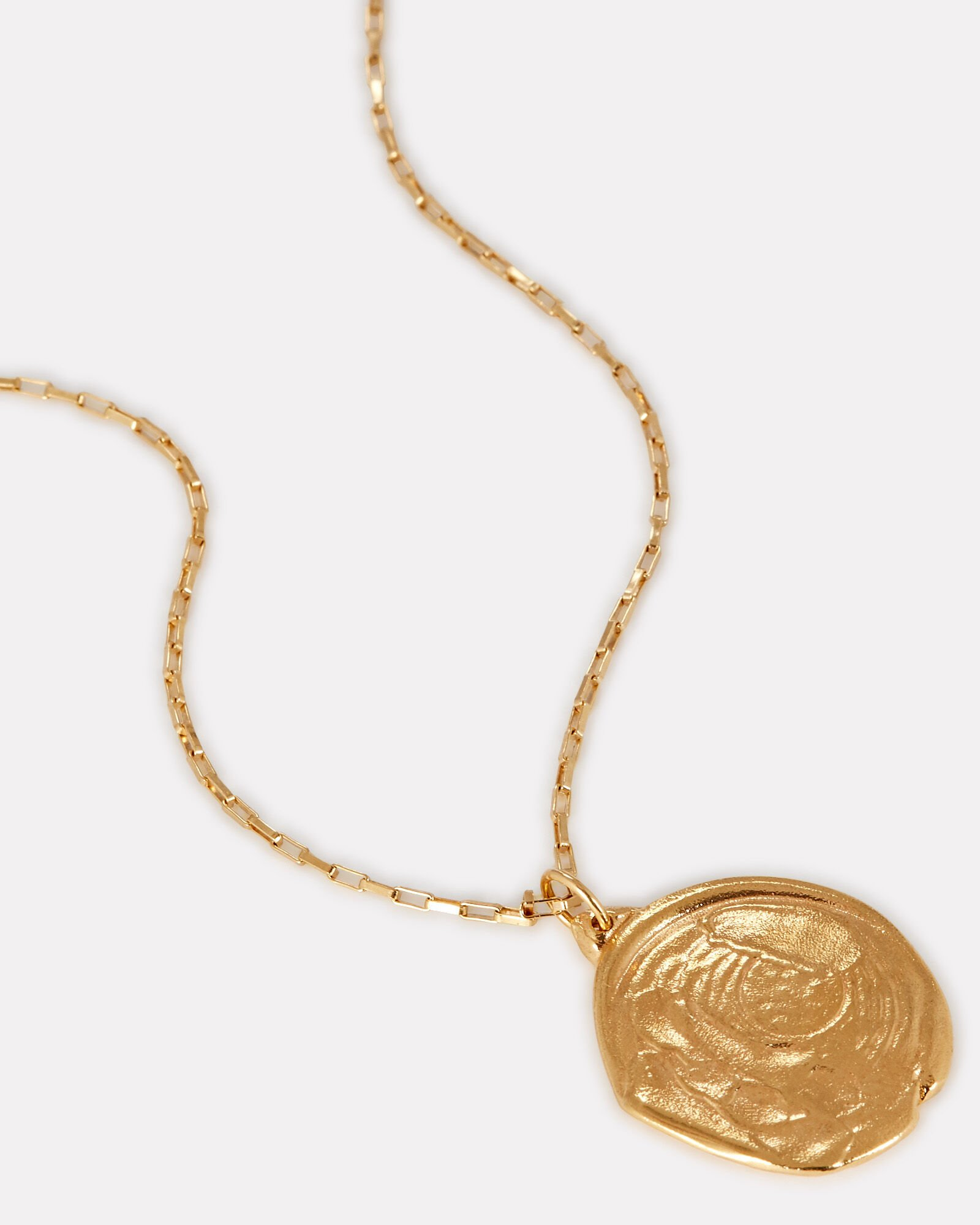 The Nebulous Whirlpool Necklace, GOLD, hi-res