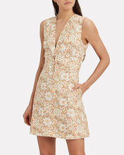 Zippy Lace Mini Dress, MULTI, hi-res