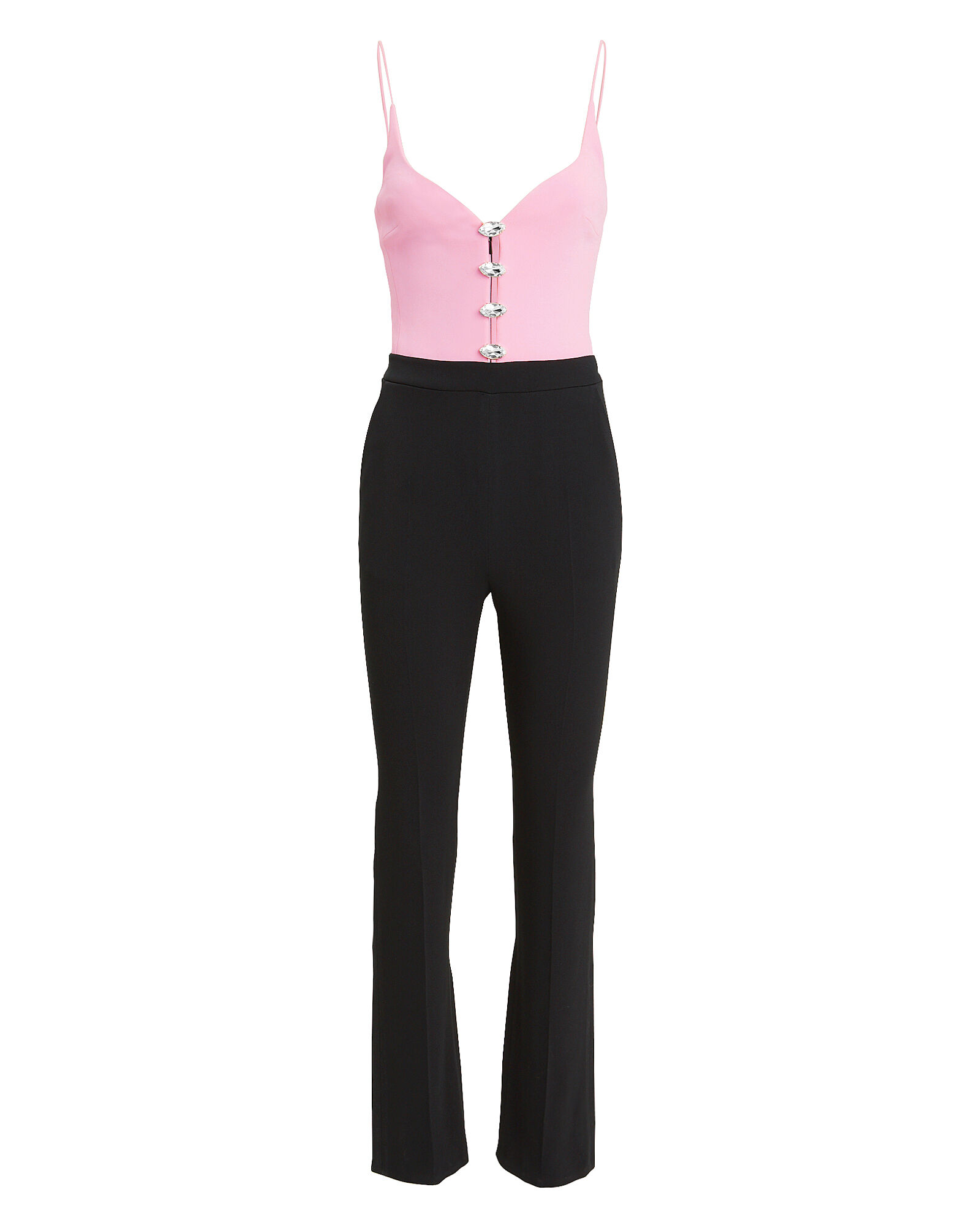 Crystal Two-Tone Jumpsuit, PINK, hi-res