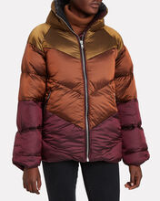 Helin Quilted Puffer Jacket, YELLOW, hi-res