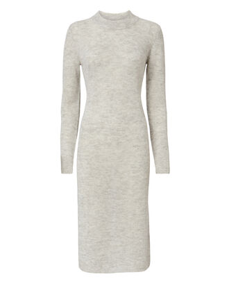 Monroe Midi Dress, GREY, hi-res