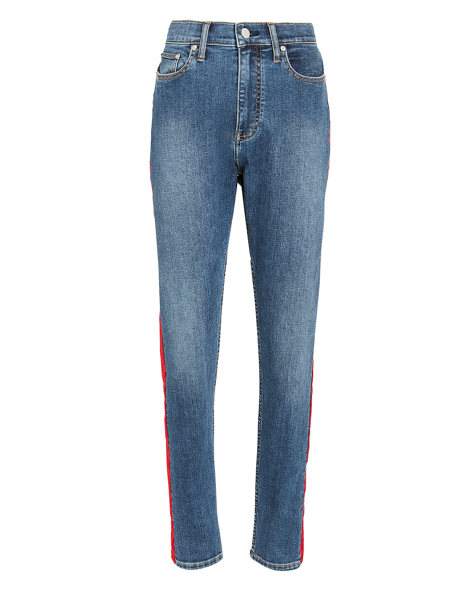 Side Stripe Jeans, DENIM, hi-res