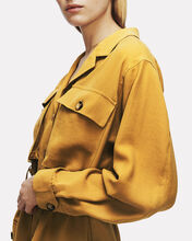 Kaiden Utility Mini Shirt Dress, YELLOW, hi-res