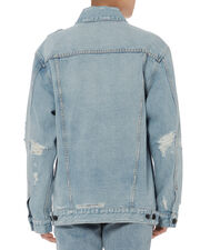 Daze Zip Denim Jacket, DENIM, hi-res