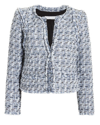 Disco Blue Tweed Jacket, BLUE-LT, hi-res
