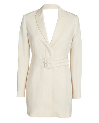 Wendy Cut-Out Blazer Dress, IVORY, hi-res