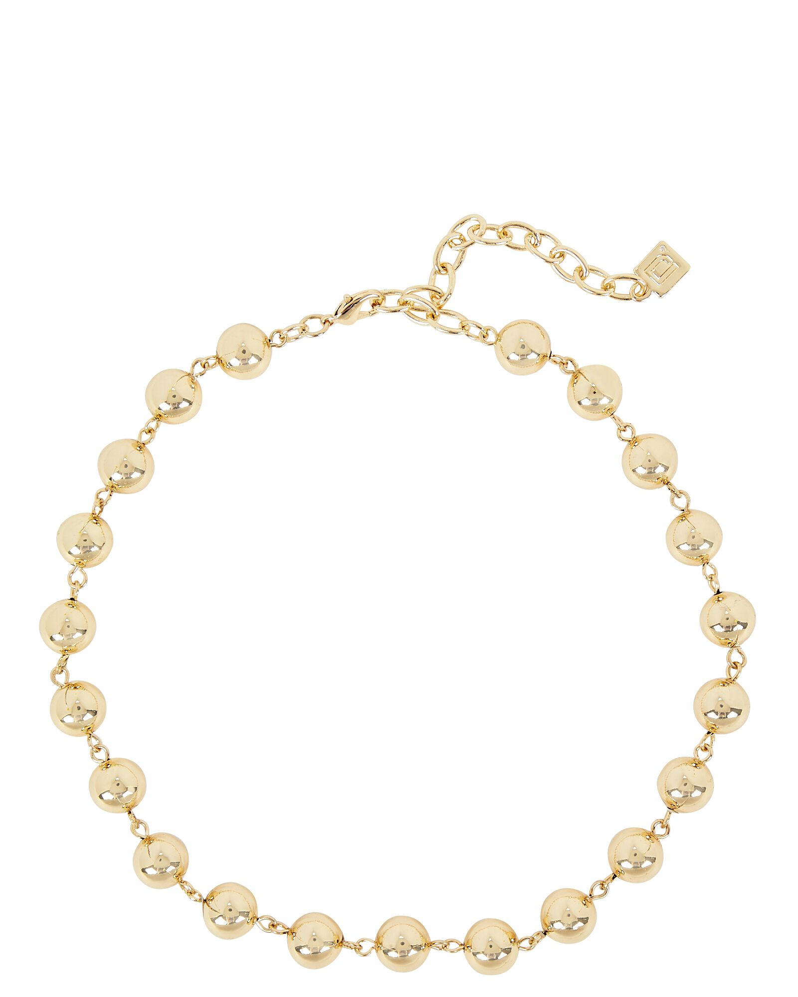 Jordan Ball Chain Necklace, GOLD, hi-res