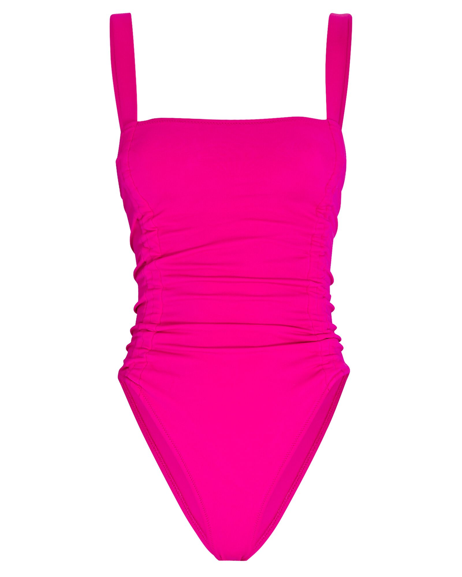Alectrona One-Piece Swimsuit, PINK, hi-res