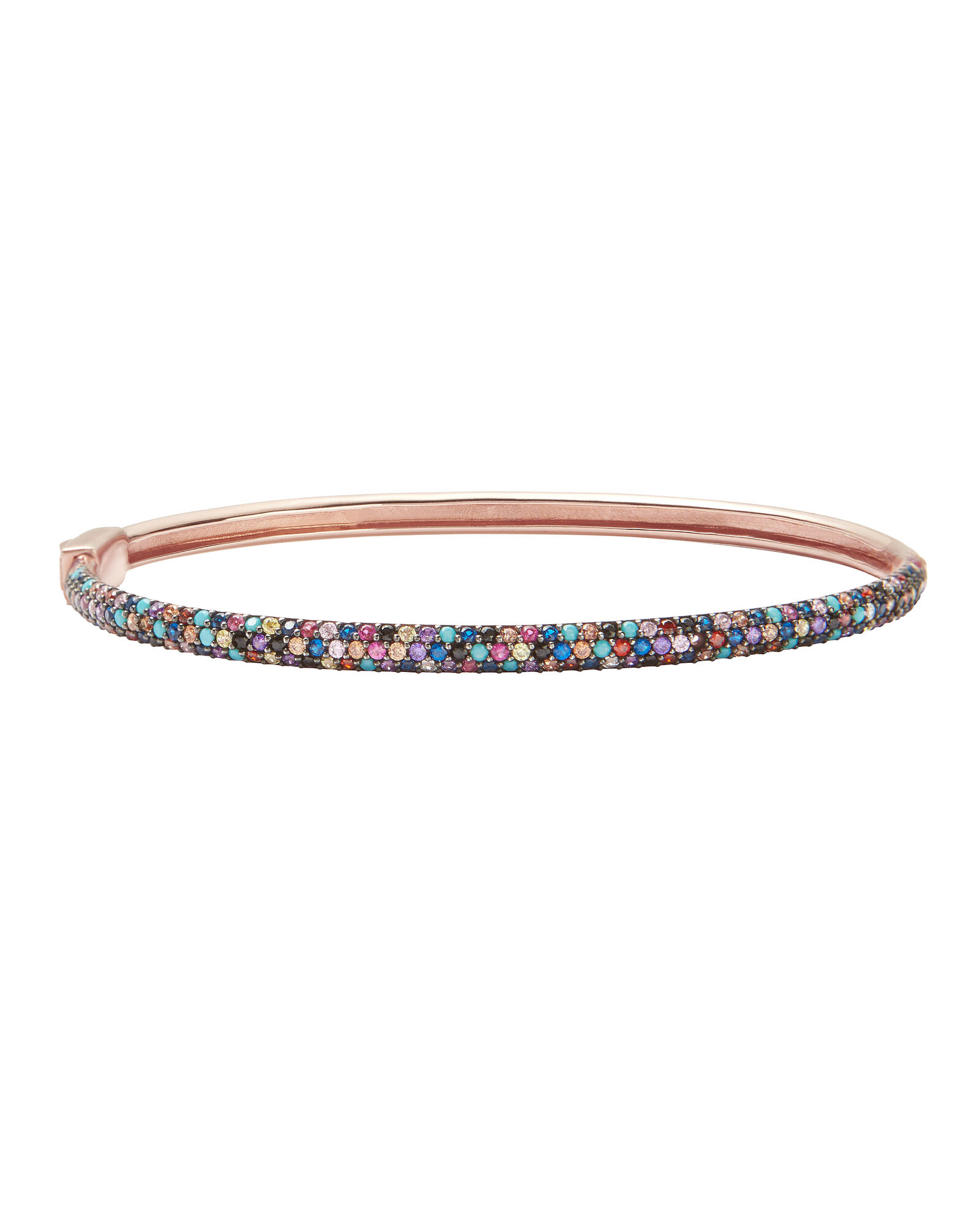 Malibu Pavé Crystal Bangle, MULTI, hi-res