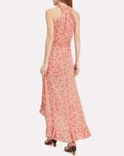 Tamara Ruffled Sleeveless Dress, PINK, hi-res