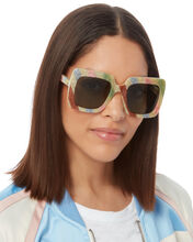 Oversized Glitter Sunglasses, MULTI, hi-res