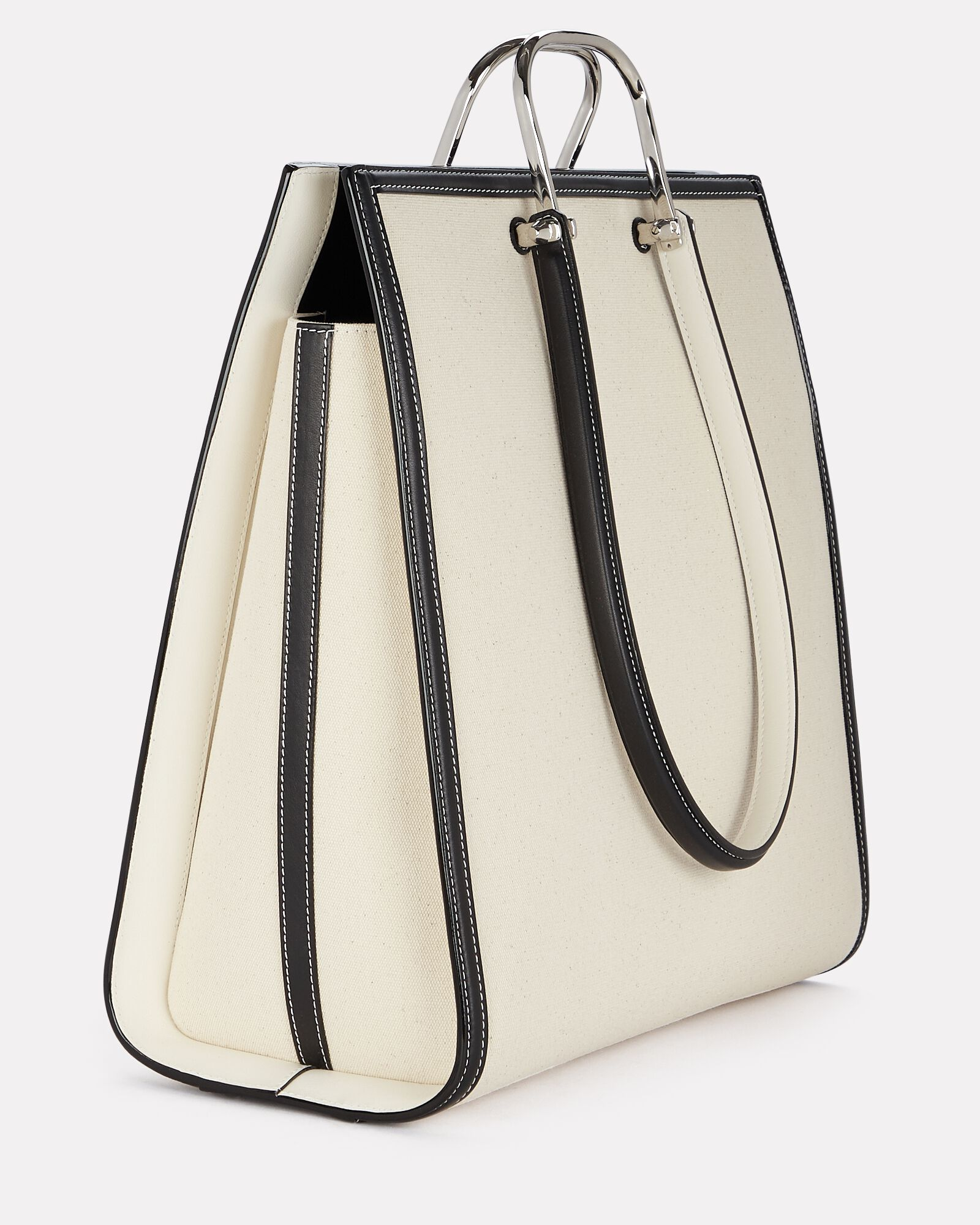 The Tall Story Canvas Tote, BEIGE, hi-res