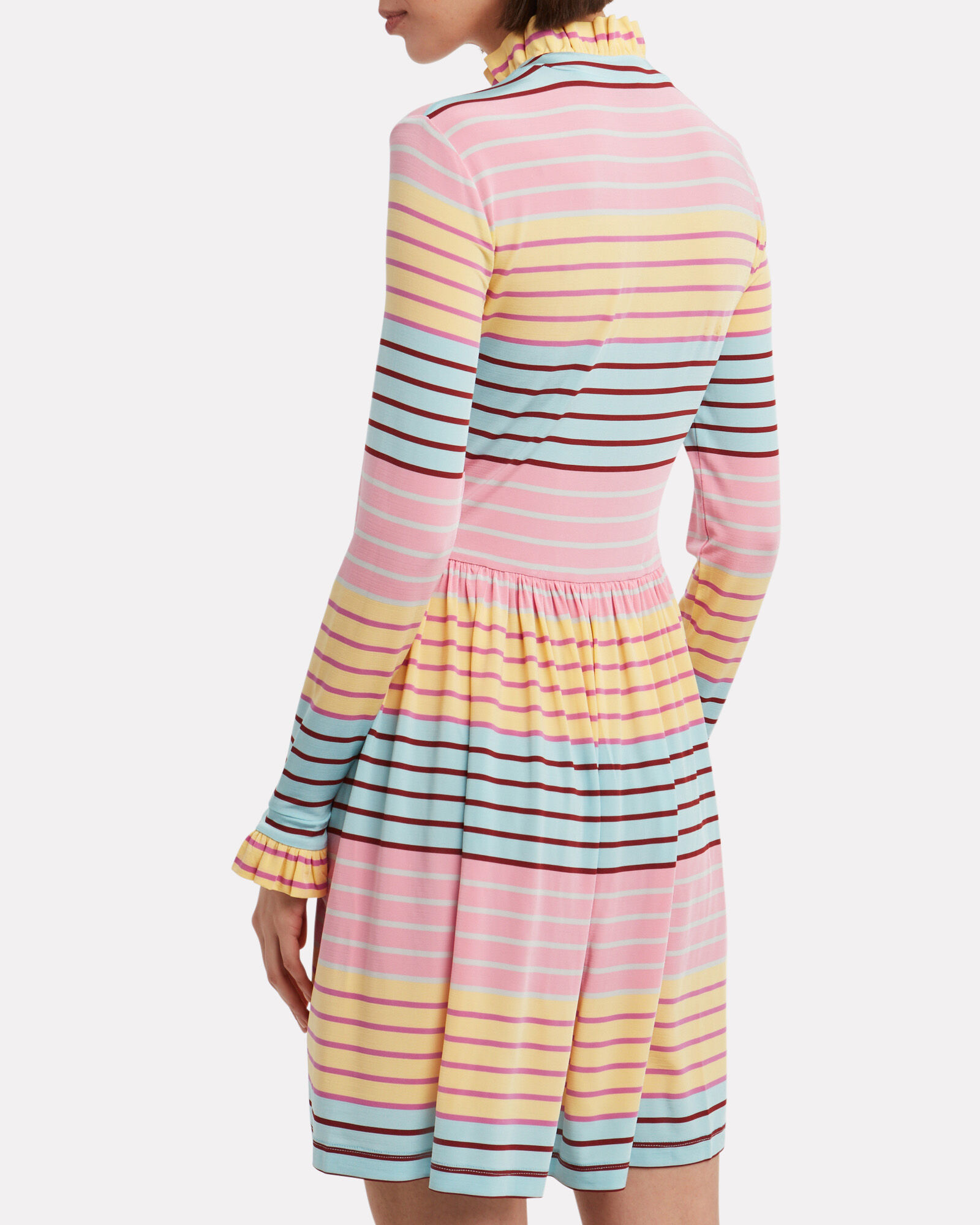 Baby Long Sleeve Jersey Dress, MULTI, hi-res