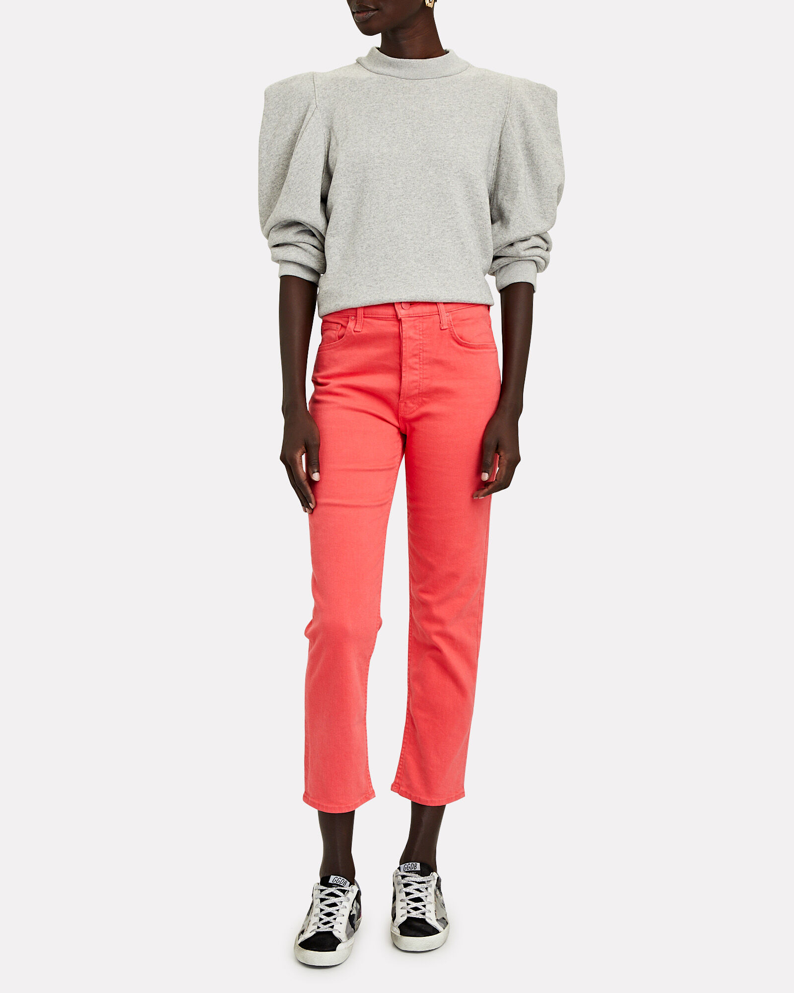 Tomcat High-Rise Cropped Jeans, PINK, hi-res