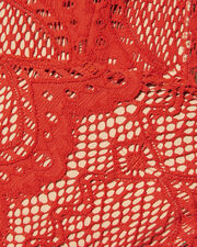 Lima Lace One Piece Swimsuit, RED, hi-res