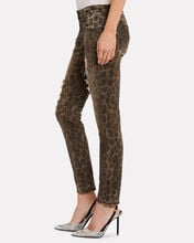 Kate Distressed Leopard Skinny Jeans, DISTRESSED LEOPARD, hi-res