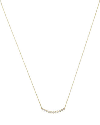 Eleven Diamond Necklace, GOLD, hi-res