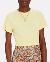 The Classic Cotton T-Shirt, YELLOW, hi-res
