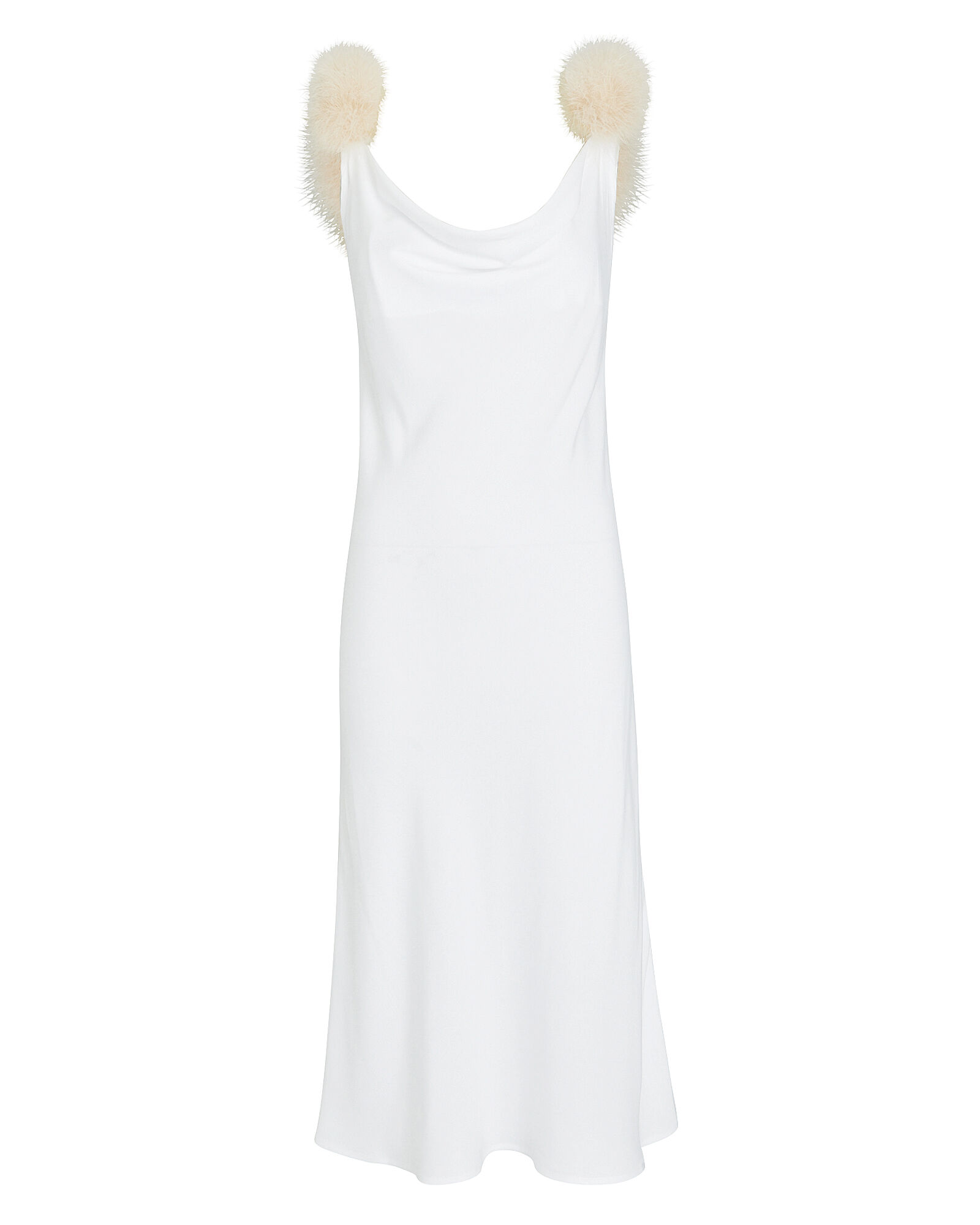 Voulez Vous Dancer Slip Dress, WHITE, hi-res