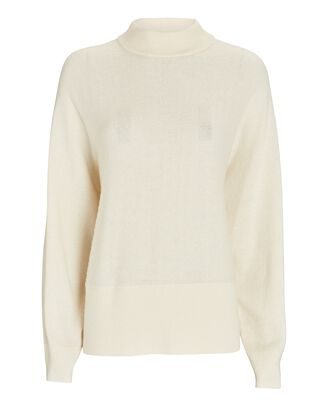 Sierra Cut-Out Sweater, IVORY, hi-res