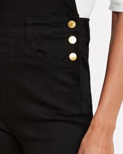 High-Rise Skinny Overalls, BLACK, hi-res