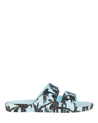 Cruz Blue Moses Two Band Slide, LIGHT BLUE/BLACK, hi-res