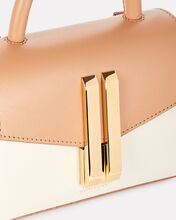 Nano Montreal Leather Bag, TOFFEE/WHITE, hi-res