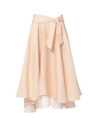 Jackie Midi Skirt, ORANGE, hi-res