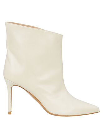 Alex Leather Ankle Boots, IVORY, hi-res