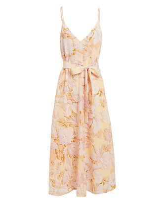 Gianna Hortensia Dress, YELLOW FLORAL, hi-res
