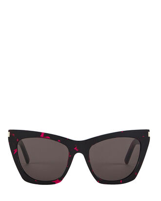 Havana Square Sunglasses, PINK, hi-res