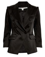 Dickey Double Breasted Blazer, BLACK, hi-res